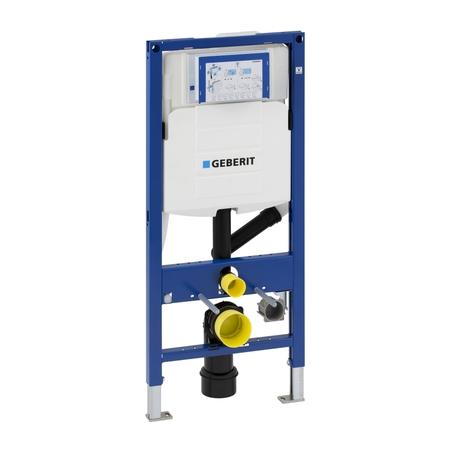 Geberit 111.370.00.5 Инсталляция для подвесного унитаза с подключением системы удаления запаха Duofix UP320. Производитель: Швейцария, Geberit