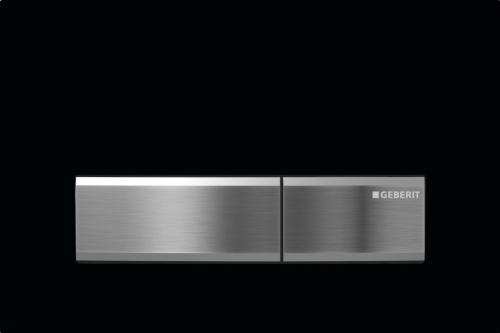 Geberit Sigma50 115.788.DW.5 Смывная клавиша цинковое литье, пластик черный RAL 9005. Производитель: Швейцария, Geberit