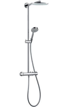 Hansgrohe 27165000 Душевая система Raindance Showerpipe EcoSmart 180 мм, держатель 460 мм. Производитель: Германия, Hansgrohe
