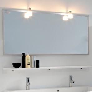Kolpa San Tia OGT 120 + PT 120 Зеркало со светильником, розеткой и полочкой белого цвета, 120 см. Производитель: Словения, Kolpa san