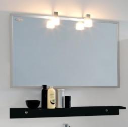 Kolpa San Tia OGT 90 + PT 90 Зеркало со светильником, розеткой и полочкой венге, 90 см. Производитель: Словения, Kolpa san