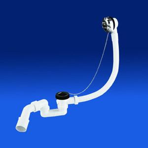 Сифон для ванны (слив перелив) с цепочкой 3503800 Sanit. Производитель: Германия, Sanit