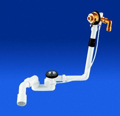 Сифон для ванны с наполнением через перелив (отдельно заказывать верхнюю часть арт.0110581) 3530100 Sanit. Производитель: Германия, Sanit